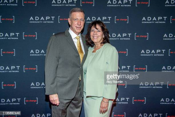 Bank New York Market President Peter M Meyer attends the 2019 Adapt Leadership Awards at Cipriani 42nd Street on March 14 2019 in New York City