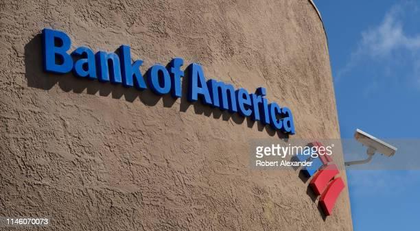 Bank of America bank building in Santa Fe New Mexico