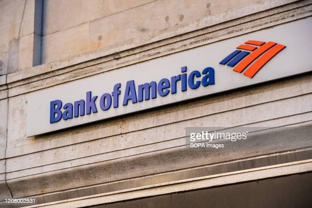 Bank of America logo seen in Midtown Manhattan
