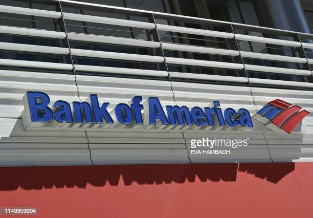A Bank of America sign is seen in Washington DC June 11 2019