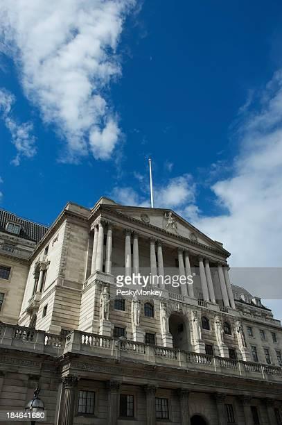 Bank of England Building Blue Sky London