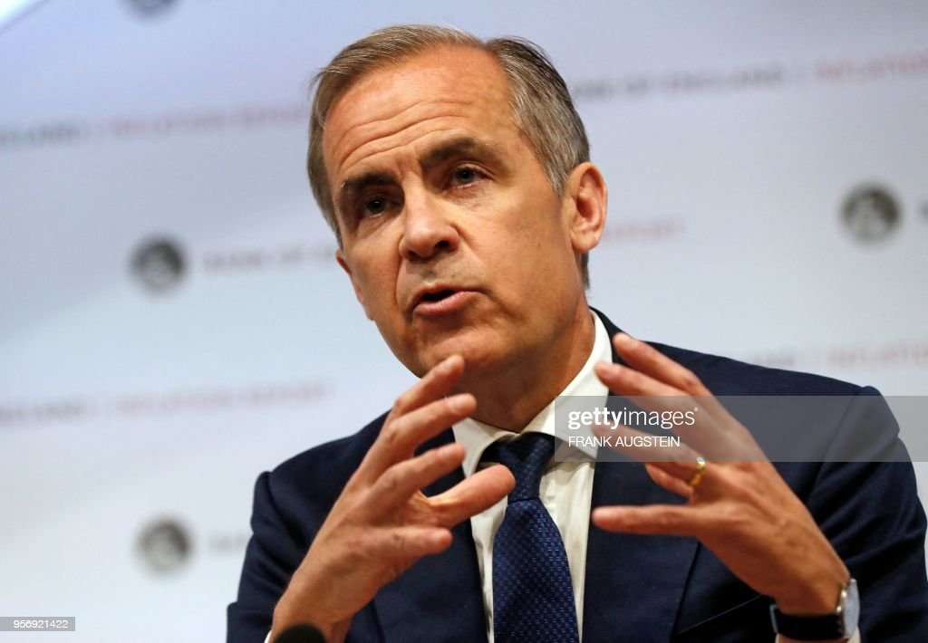 BRITAIN-ECONOMY-BANK-RATE-BOE : News Photo