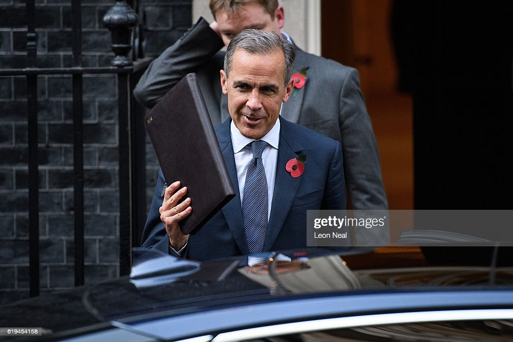 The Governor Of The Bank Of England Arrives At Number Ten Downing Street