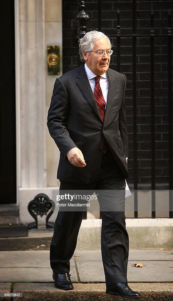 Bank Of England Governor Visits Downing St For Second Day Of Talks