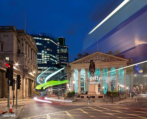 bank of england in the city of london - bank of england stock photos and pictures