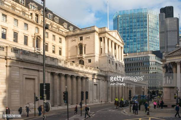 bank of england, london, uk - monetary policy stock pictures, royalty-free photos & images