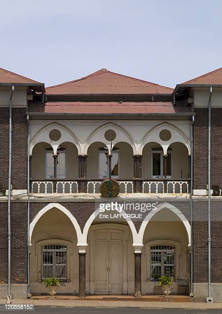 Bank of Eritrea building in Eritrea on May 10 2007 National Bank of Eritrea located on Zerai Derres Square Asmara It was opened in 1914 as the seat...