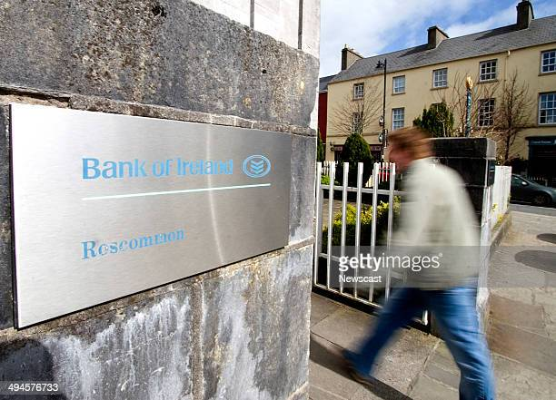 A Bank of Ireland Branch Roscommon West of Ireland