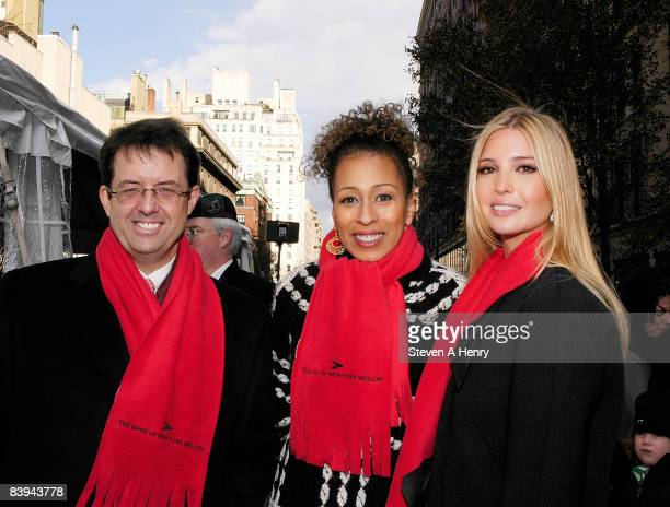 Bank Of New York Mellon CEO Robert P Kelly actress Tamara Tunie and Ivanka Trump attend the Children's Aid Society's 2008 Miracle on Madison Avenue...