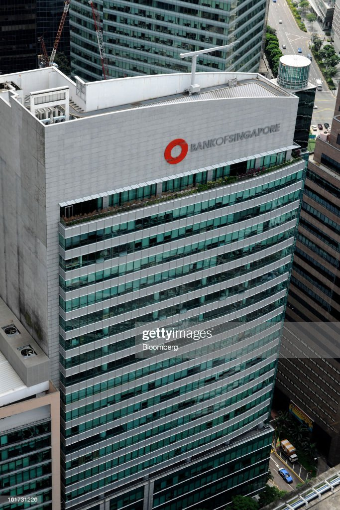 Bank of Singapore Centre, the private banking subsidiary of Oversea-Chinese Banking Corp. (OCBC), stands in Singapore, on Friday, Feb. 15, 2013. OCBC, Southeast Asia's second-largest lender, posted a 12 percent gain in fourth-quarter profit as higher income from wealth management and insurance offset narrowed lending margin. Photographer: Munshi Ahmed/Bloomberg via Getty Images