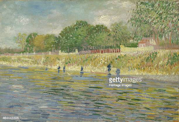 Bank of the Seine 1887 Found in the collection of the Van Gogh Museum Amsterdam