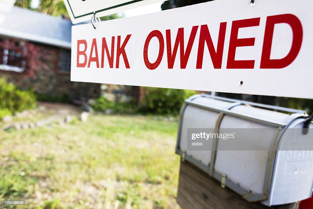 Bank Owned Home : Stock Photo