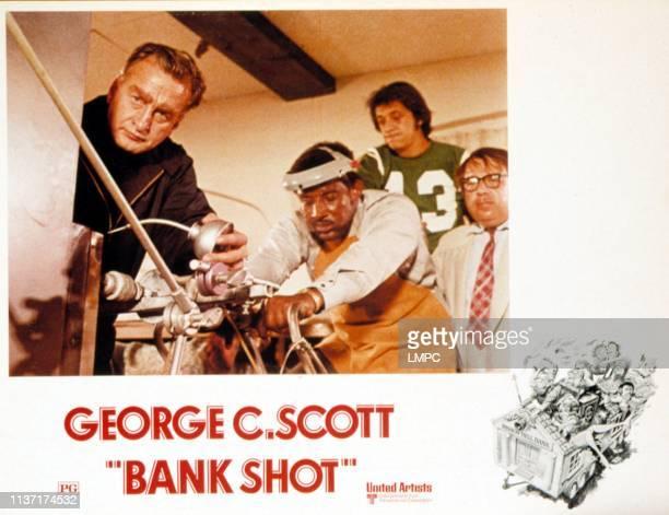 Bank Shot poster George C Scott Frank McRae Don Calfa Sorrell Booke 1974