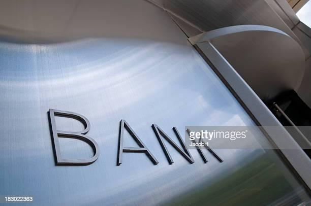 Bank-Schild