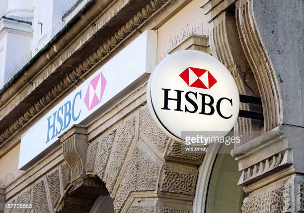 HSBC Bank signs