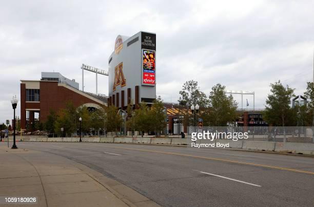 Bank Stadium home of the Minnesota Golden Gophers football team and Minnesota United FC soccer team in Minneapolis Minnesota on October 13 2018