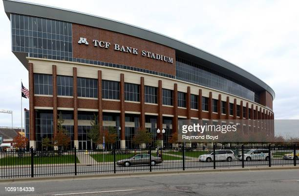 Bank Stadium home of the Minnesota Golden Gophers football team and Minnesota United FC soccer team in Minneapolis Minnesota on October 13 2018