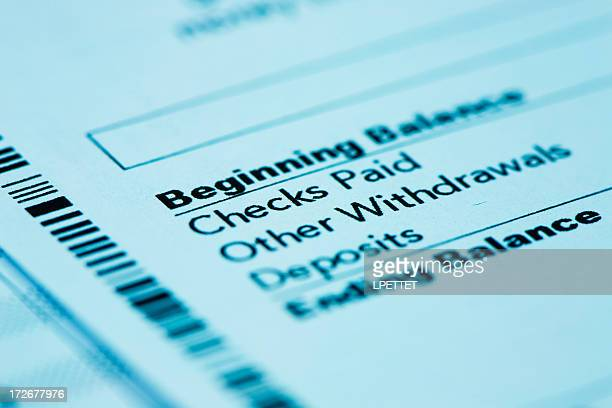 bank statement - bank statement stock pictures, royalty-free photos & images