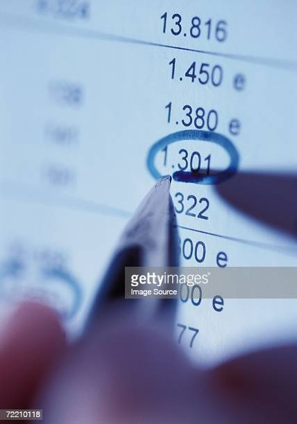 bank statement - mission statement stock photos and pictures