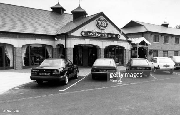 Bank Top Toby Hotel, Public House, Ponteland Road, Newcastle, 1st August 1988.