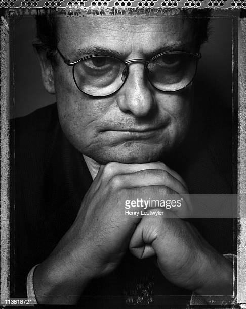 Banker and financial consultant Didier Varlet is photgraphed for New York Times Magazine in New York City in September 2001