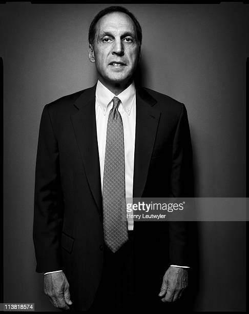 Banker and former Chairman and CEO of Lehman Brothers Dick Fuld is photographed for Fortune Magazine in New York City on March 21 2006