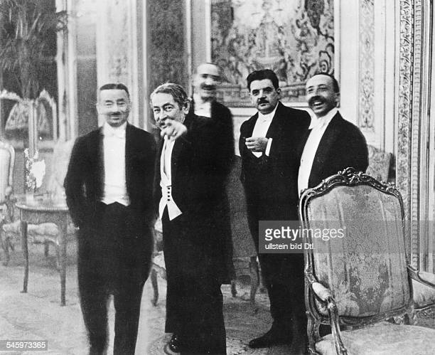 Bankett im Quai d'Orsay zu Ehren der deutschen Delegation während der bilateralen Verhandlungen parallel zur SiebenMächteKonferenz zum HooverPlan in...