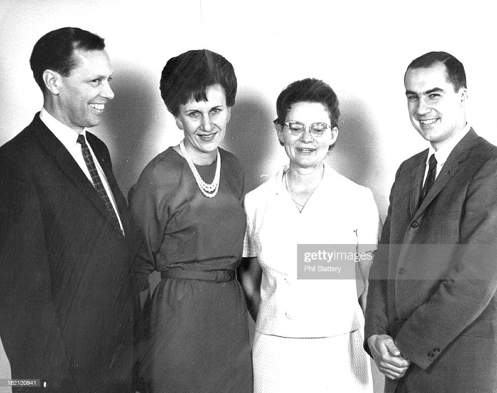 APR 10 1967, APR 12 1969; Banking Education Group Elects Officers; New officers of the Denver chapte : News Photo