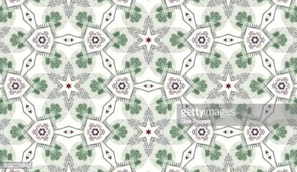 US $ 100 banknotes kaleidoscope