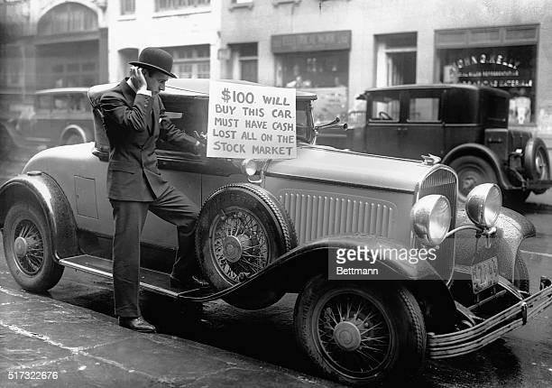 Bankrupt investor Walter Thornton tries to sell his luxury roadster for $100 cash on the streets of New York City following the 1929 stock market...