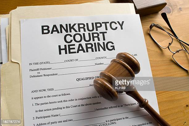 Bankruptcy Court Hearing paperwork