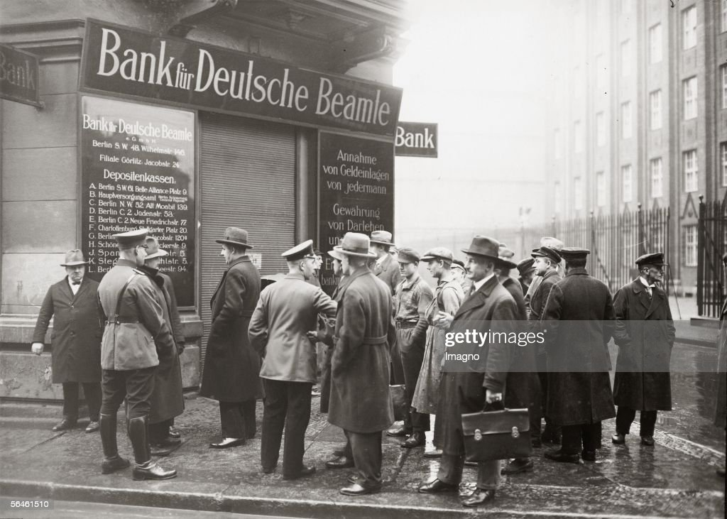 Bankruptcy of German Civil Servant Bank : Foto di attualità