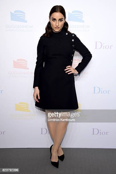 Banks attends the 2016 Guggenheim International PreParty made possible by Dior at Solomon R Guggenheim Museum on November 16 2016 in New York City