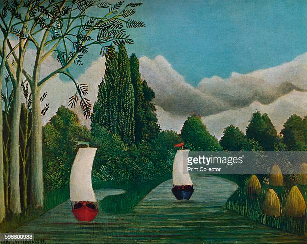 Banks of the Oise 1905 Painting held at The Smith College Museum of Art Massachusetts From Die Meister Des XX Jahrhunderts II [Verlag E A Seemann...
