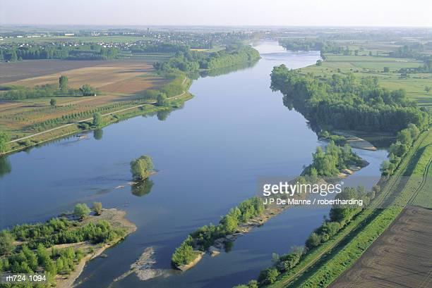 Banks of the River Loire, Chambord Region, Pays-de-Loire, France
