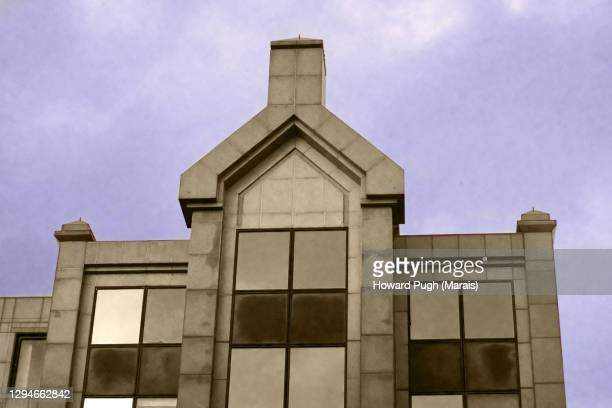 bankside ornate stone building exteriors - howard pugh stock pictures, royalty-free photos & images