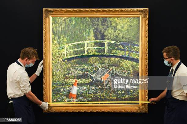 Banksy's 'Show Me The Monet' to star in Sotheby's 'Modernites/Contemporary' evening auction on the 21st October with an estimate of £3000 to £5000 at...