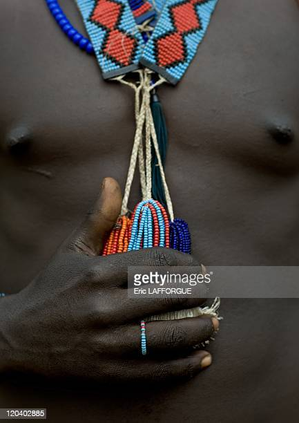 Banna warrior in Ethiopia on October 31, 2008 - Banna - Hamar in Turmi, Ethiopia. The Banna live like the Hamar: they live on the eastern side of the...