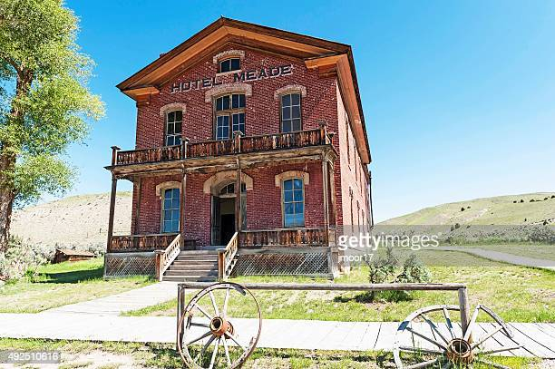 Bannack State Park Hotel Ghost Town Montana