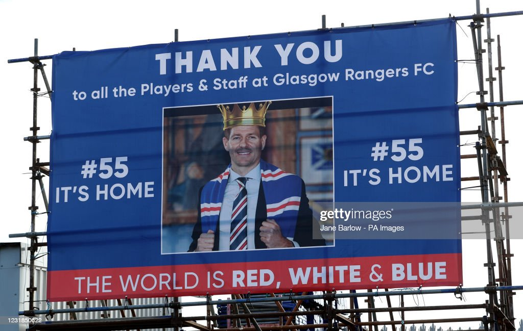 Rangers Fans : News Photo
