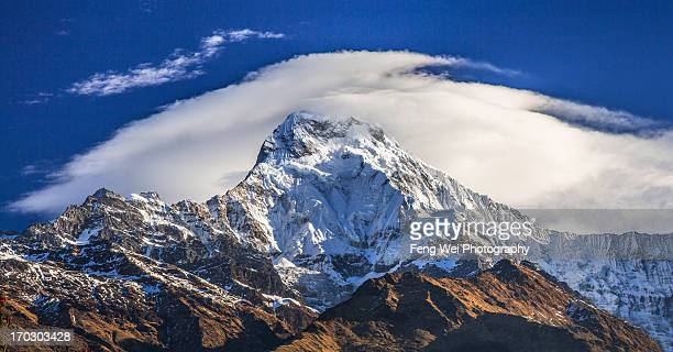 Banner Cloud Over Annapurna South, Nepal