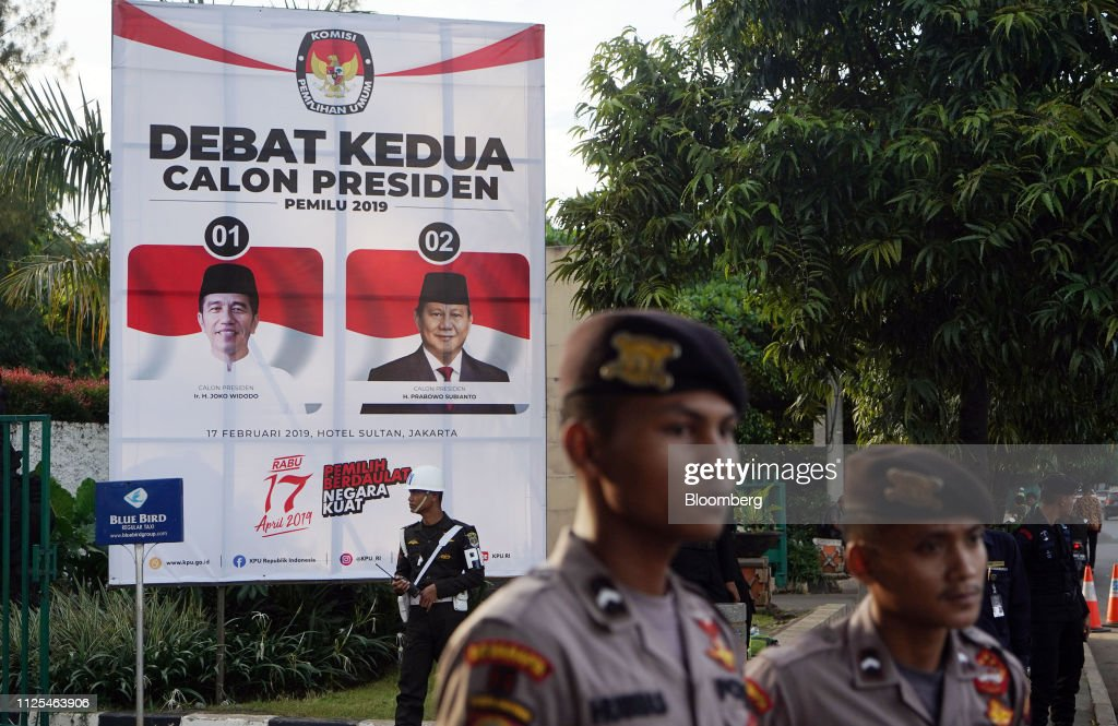 IDN: Indonesia President Joko Widodo And Presidential Candidate Prabowo Subianto Attend Second Debate