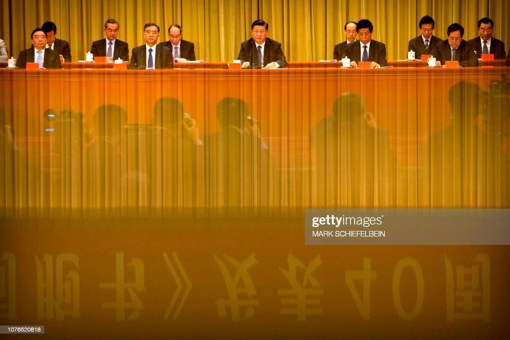 TOPSHOT-CHINA-TAIWAN-POLITICS : News Photo