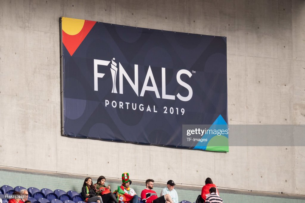 Banner Of The Finals In Portugal Is Seen Prior To The Uefa Nations News Photo Getty Images