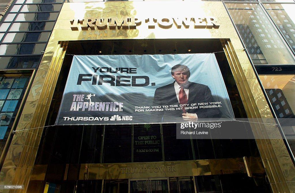Donald Trump promotions : News Photo