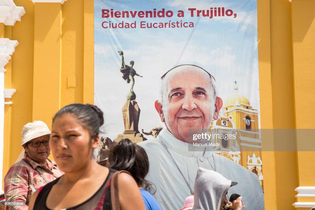 Pope Francis Visits Peru
