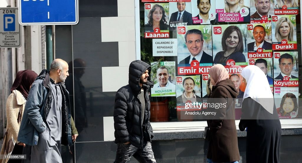 Upcoming elections in Belgium : News Photo