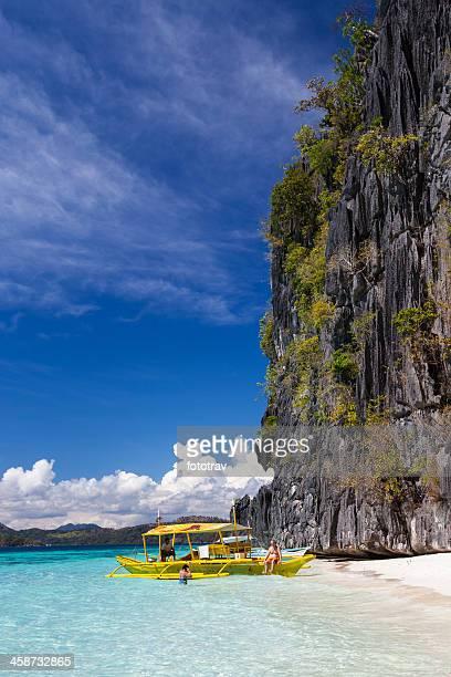 Banol beach, Coron island, Philippines