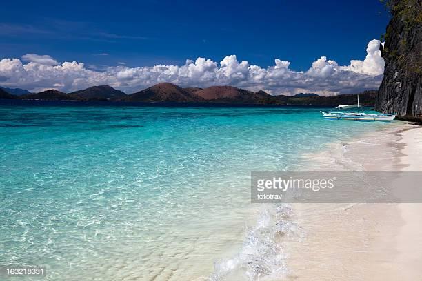 Banol spiaggia di Coron, Filippine