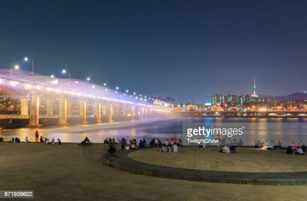 Banpo Rainbow Bridge Twilight